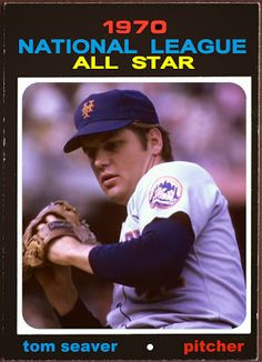 1971 Topps Tom Seaver All-Star, New York Mets, Baseball Cards That Never Were