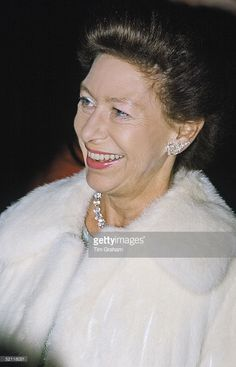 Princess Margaret At The Adelphi Theatre.