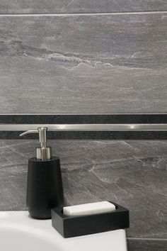 kolekcja Slate Soap Dispenser, Slate, Bathroom, Soap Dispenser Pump, Washroom, Chalkboard, Full Bath, Bath, Bathrooms