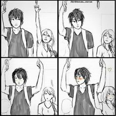 She just found her soulmate, what do you mean short people problems?<<< that's really cute! Short People Problems, Short Girl Problems, Short Girl Memes, Short People Quotes, Couples Comics, Cute Stories, Couple Drawings, Couple Sketch, Cute Anime Couples