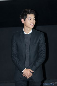 Song Joong Ki 송중기 at one of the stage greeting during Werewolf Boy screening.