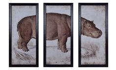Coco Republic Timothy Oulton - Art Line Hippo