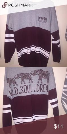 Varsity top Size small Rue 21 Tops Sweatshirts & Hoodies