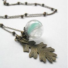 Real Feather Necklace Boho Feather Necklace Feather by curtainroad