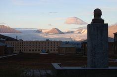 Abandoned city - Pyramiden, Svalbard