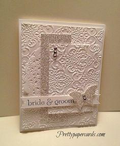 Beautiful Wedding Card! (MOJO287) April 3, 2013 By peggy