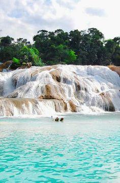 Cascadas de Agua Azu nature love