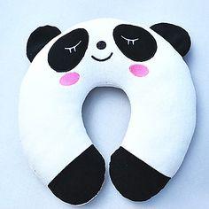 panda padrão travesseiro em forma de u de pelúcia – EUR € 10.94