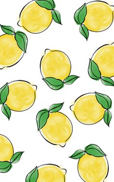 """This super fun and refreshing FREE Summer Printable is the perfect addition to your decor this summer season! The lemons add the perfect amount of """"freshness"""" to your home! Summer Wallpaper, Trendy Wallpaper, Pretty Wallpapers, Iphone Wallpaper, Summer Backgrounds, Cute Backgrounds, Wallpaper Backgrounds, Lemon Party, Free Summer"""