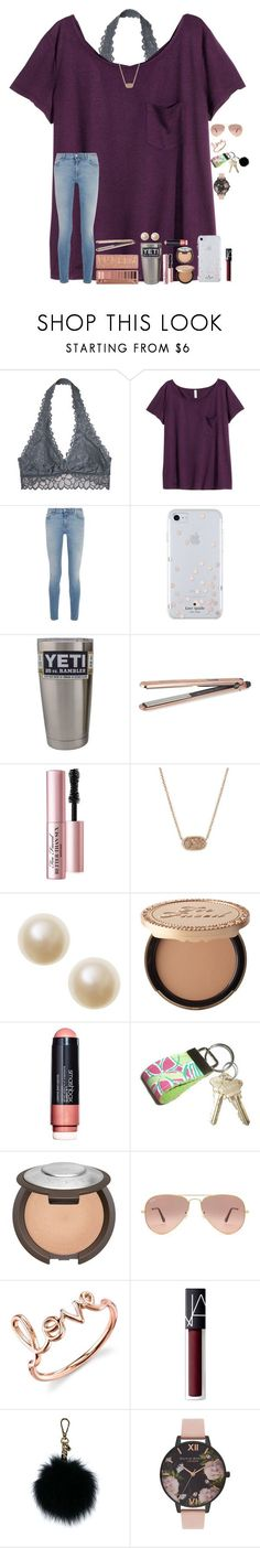 """In Nashville"" by taylor-austinxoxo ❤ liked on Polyvore featuring Victoria's Secret, H&M, Givenchy, Kate Spade, DIVA, Too Faced Cosmetics, Kendra Scott, Urban Decay, Smashbox and Lilly Pulitzer"