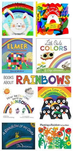 Charming Kids Books About Rainbows