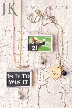 In it to win it!  You'll be a winner with this custom photo charm. $68  http://mycustomkeepsakes.jewelkade.com/