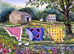 'Summer Breeze' by Diane Phalen