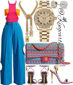 Cute Comfy Outfits, Cool Outfits, Fashion Outfits, Womens Fashion, Fashion Ideas, Trouser Outfits, Virtual Fashion, Summer Girls, Fashion Forward
