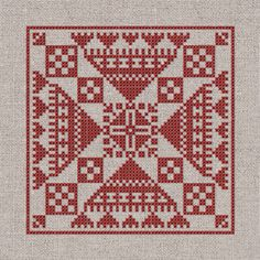 Cross Stitch Samplers, Cross Stitch Charts, Cross Stitching, Cross Stitch Patterns, Cross Stitch Cushion, Collections Of Objects, Palestinian Embroidery, Bead Crochet Rope, Cross Stitch Supplies