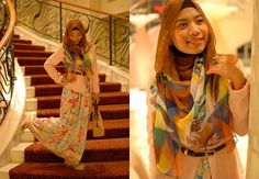 hijab evening outfits