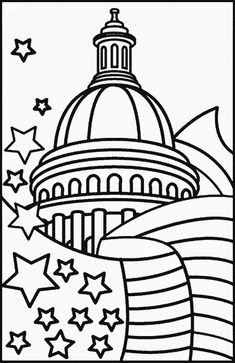 106 Best 4th Of July Coloring Pages Images Memorial Day