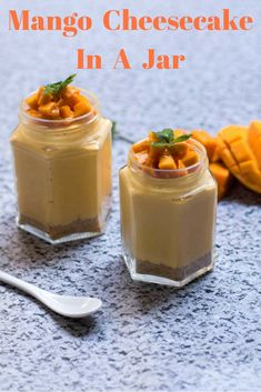 This Tropical fruit is what adds freshness and flavor to a regular cheesecake. These Mango Cheesecake Jars are rich, creamy and a dessert which everyone loves. Serving them in these mini jars make a regular cheesecake look fancy and easy to move around. These jars have a crisp crust at the base with a smooth and creamy cheesecake filling served with lots of chopped mango chunks.