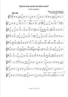 Música na Walt Disney: Quem tem medo do Lobo Mau? - Os Três Porquinhos