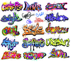 Free vector Beautiful graffiti font design vector graphic available for free download at 4vector.com. Check out our collection of more than 180k free vector graphics for your designs. #design #freebies #graphicdesign