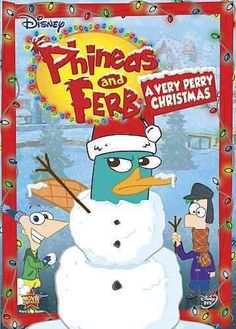 Disney Channel Phineas And Ferb: A Very Perry Christmas