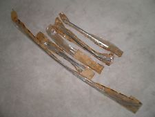 NOS 1965-1968 Ford Mustang Shelby, 67-68 Cougar Windshield Moldings Complete Set