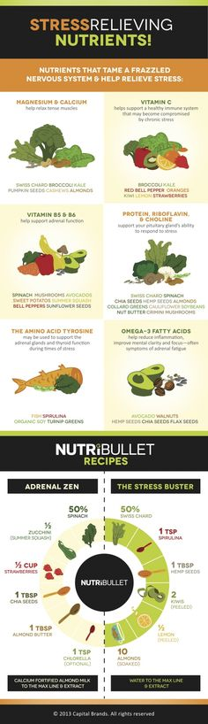Nutribullet Recipes: Stress-Relieving Nutrients