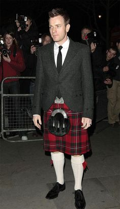Christian from Moulin Rouge. I even love him in a kilt