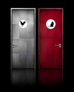 Cock&Pussy restrooms