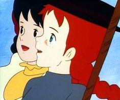 赤毛のアン Anne of Green Gables Old Cartoons, Classic Cartoons, Diana Barry, Masterpiece Theater, Studio Ghibli Art, Anne Shirley, Anne Of Green Gables, Cute Drawings, Folk Art