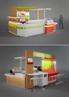 Custom Designed Kiosks
