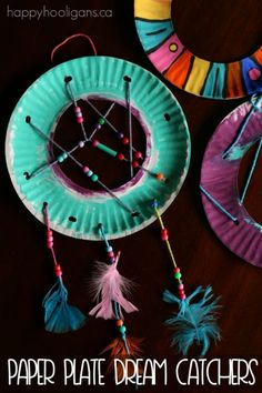 dream catcher craft for kids to make