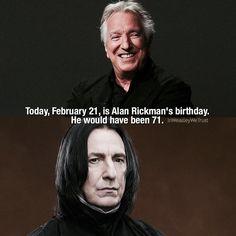RIP Alan Rickman /* We miss you ❤️ (@inweasleywetrust) в Instagram: «- /* - #AlanRickman #HarryPotter»