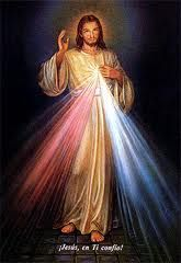 Jesús Misericordioso, ilumínanos con tus rayos de Luz