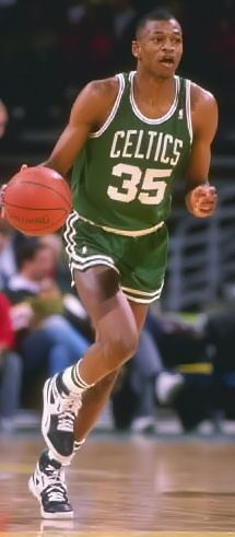 Reggie Lewis, Sr (1965 - 1993) NBA basketball player with the Boston Celtics, he collapsed and died from a fatal heart condition while working out