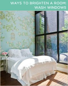Let the sun shine! 4 ways to brighten up a gloomy room. (great tips and tricks, amazing, good to know, ideas and inspiration, household)