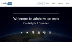 35+Awesome Free And Premium Adobe Muse Templates