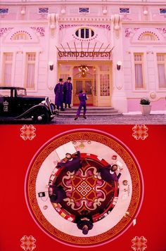 I could pin every single frame from The Grand Budapest Hotel - the fucking symmetry, the colours... made me cry - so beautiful.