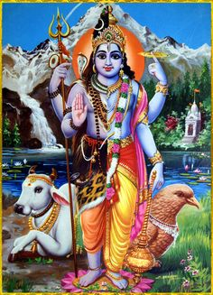 HARI HARA ॐ The combined deity form of both Vishnu (Hari) and Shiva (Hara)