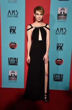 Emma Roberts // 'American Horror Story: Freak Show' Screening