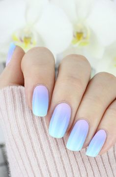 This summer great and cool nail design - and nail polish ideas 3 - Nails - . - This summer great and cool nail design – and nail polish ideas 3 – Nails – - Ombre Nail Designs, Cool Nail Designs, Acrylic Nail Designs, Ombre Nail Art, Pedicure Designs, Nagellack Design, Nagellack Trends, Nail Polish, Shellac Nails