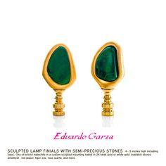Eduardo Garza Finials - The Art of Eduardo Garza -