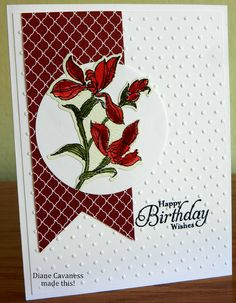 Stampin Up Backyard Basics in Watercolor
