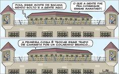 Charge do Lute sobre os políticos condenados (05/05/2017) #Charge #Política #Prisão #LavaJato #Cadeia #Preso #ColarinhoBranco #HojeEmDia