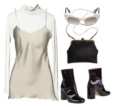 """""""Untitled #679"""" by lucyshenton ❤ liked on Polyvore featuring Mimi Berry, Alberta Ferretti and Maison Margiela"""