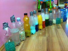 Vitamina Gioco: Le bottiglie sensoriali