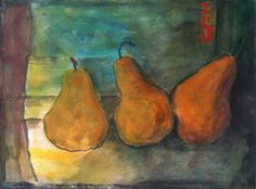 still life, watercolor painting  by bblacha,