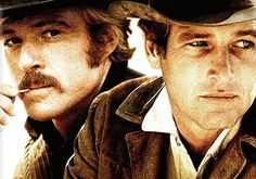Butch & Sundance; Redford & Newman = hotness personified.
