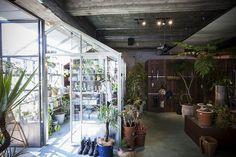 ビオトープ大阪店が南堀江にオープン - コーヒースタンドや緑溢れる屋上レストランも - 写真3 | ファッションニュース - ファッションプレス Coffee Stands, Flyers, Retail, City, Shop, Ruffles, Cities, Sleeve, Leaflets