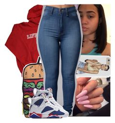 """"""""""" by theyknowtyy ❤ liked on Polyvore featuring NIKE"""